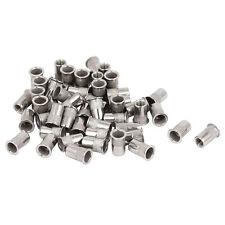 M4x10mm Stainless Steel Threaded Blind Rivet Nut Insert Nutserts 50pcs