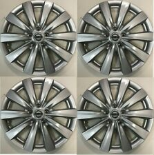 "4 NEW SET 16"" NISSAN Hubcap Wheel cover Fits 2010-2018 NISSAN SENTRA"