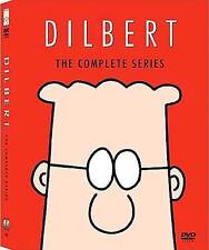 Dilbert . The Complete Series . Season 1 + 2 . All 30 Episodes . 4 DVD . NEU OVP