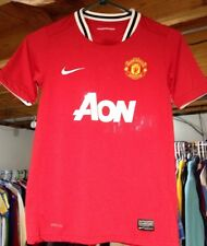Manchester United Nike Dri-fit Kids Jersey Medium