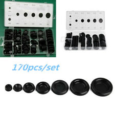 170 pcs Rubber Grommet Firewall Hole Plug Electrical Wire Gasket Assortment Set