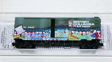 Micro-Trains Line MTL 2244080 N Plug SD Box Car British Columbia BCOL 4949 Weath