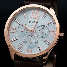ORIENT FSW02002W0 Reloj Multifunción Mujer de cuarzo pulsera de cuero