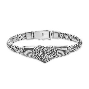 """BALI LEGACY 925 Sterling Silver Bracelet Jewelry Gift For Her Size 8"""""""