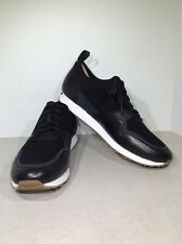 UGG Trigo Hyperweave Men's Size 10 Black Wedge Fashion Sneakers X23-959*