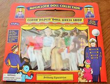 MAGICLOTH BRITTANY EQUESTRIAN MAGNETIC MAGNET CLOTH DRESS UP DOLL WITH 8 OUTFITS