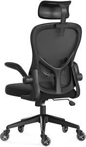 Hbada Ergonomic Office Chair, High-Back Desk Chair, Computer Chair with Flip-up