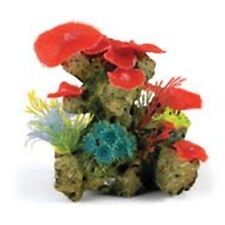 "Classic Large Coral Garden 7"" Aquarium Fish Ornament"