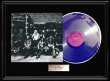 ALLMAN BROTHERS LIVE AT FILMORE ALBUM RARE FRAMED LP DISC PLATED VINYL NO REPROS