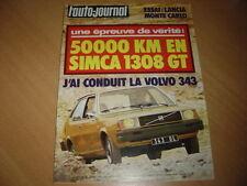 AJ N°11 1976 Beta Monté-Carlo.Simca 1308 GT