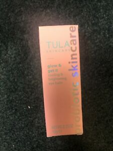 TULA Skin Care ROSE Glow And Get It Cooling And Brightening Eye Balm  0.35 oz