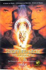 Original Siegfried & Roy Magic Box Movie Poster