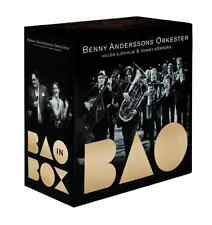 6 CD + 2 DVD Benny Andersson Orkester BAO IN A BOX, 2012, NEU, Abba Anderssons