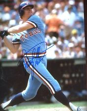 RUSTY  STAUB    TEXAS  RANGERS    SIGNED 8X10 PHOTO