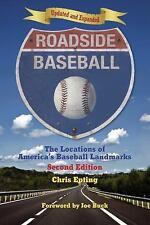 Roadside Baseball: The Locations of America's Baseball Landmarks-ExLibrary