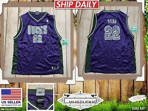 Reebok Milwaukee Bucks Michael Redd #22 Purple Jersey Youth Boy XL XLARGE 18-20