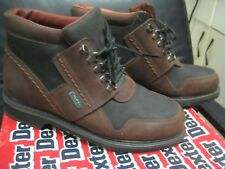 DEXTER- Mens Casual  Tinesulate Boots- Brown/Black Size 9.5 D