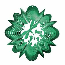 Dragonfly Green Wind Spinner Large Stainless Steel Garden Decoration