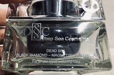 Deep Sea Cosmetics - Dead Sea Black Diamond - Magnetism Mud Mask 5.6 OZ SEALED