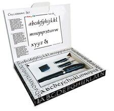 Pentel Calligraphy Set Tradio Fountain Pens Italics Fine Medium Broad -Clearance