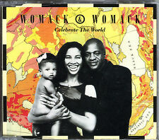 WOMACK & WOMACK - CELEBRATE THE WORLD - CD MAXI 1988