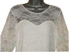 Lace Patternless Midi Plus Size Dresses for Women