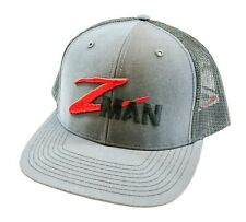 Z-Man Logo Mesh Trucker Hat Adjustable Zman Logo Fishing Sun Protection Hat