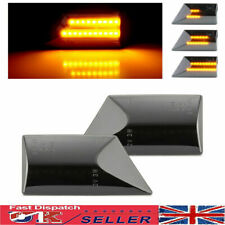 2 × Dynamic Side Repeater Indicator LED Lights For Opel Vauxhall Vectra C Signum