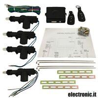 Kit Universal Cerradura Centralizado Puerta para Coche Con Mandos a Distancia -