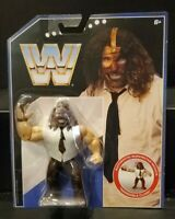 Rare Mattel WWE WWF Retro Series 2 MANKIND Mick Foley SUPERSTAR Action Figure