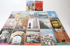 MERIAN - 17 Hefte aus den Jahrgängen 1955 - 1984 - Welt Reisen Länder