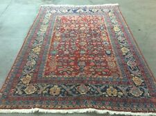 Vintage Turkish Woven Legends Rug Hand Knotted Spun Wool 8' 6� X 6'