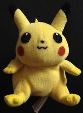 Pikachu Hasbro Pokemon Plush Bean Bag Toy RARE 1999 Original Yellow