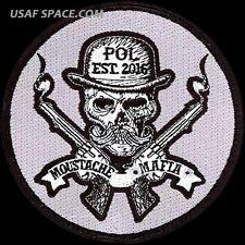 USAF 379th EXPEDITIONARY LOGISTICS READINESS SQ - MOUSTACHE MAFIA - VEL PATCH