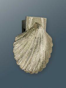 Brass Bee Door Knocker - Nickel Finish - Solid Brass Shell Door Knocker