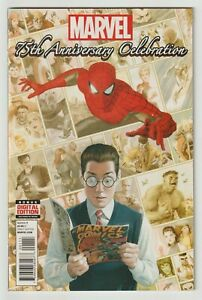 Marvel 75th Anniversary Celebration (2014) #1 - Final Stan Lee - Marvel
