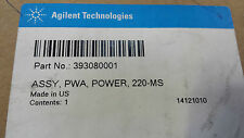 Agilent Life Sciences 393080001 ASSY, PWA, POWER, 220-MS  Fedex Shipping