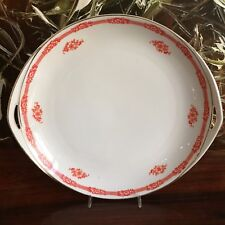 Rosenthal Bavaria Sylvia Sonja - Classy Antique Pastry Plate with Handles