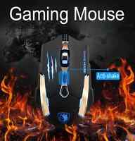 SADES Q6 7 Buttons 3500 DPI Professional Wired Gaming Mouse LED USB Optical Mice