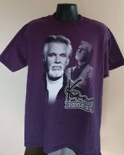 vintage 90s KENNY ROGERS CONCERT T-Shirt LG country pop rock jazz tour soft