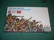 1/72 ESCI British Infantry Kyber Pass Red Cover Edition