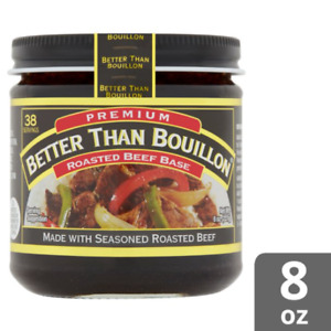 Better Than Bouillon Roasted Beef Base, Made with Seasoned Roasted Beef, 8 Oz