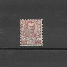REGNO 1901 fIoreale 10 cent nuovo * mlh