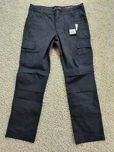 LAPG Women Stretch Ops Tactical Pants Charcoal Size 8 Regular Fit Slim Leg 1215