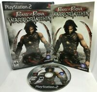 Prince of Persia: Warrior Within (Sony PlayStation 2, 2004) PS2 - Complete CIB