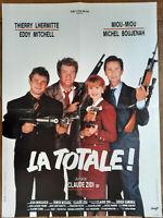 Plakat La Totale Claude Zidi Thierry Lhermitte Eddy Mitchell Miou-Miou 60x80cm