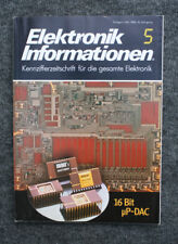 RARITÄT FÜR SAMMLER - ELEKTRONIK INFORMATIONEN 5 - ZEITSCHRIFT VON 1984