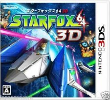 Star Fox 64 3D 3DS NINTENDO JAPANESE  JAPANZON