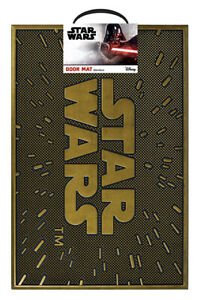 New Official Rubber Doormats Choose Star Wars Harry Potter Dr Who Friends etc