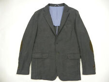 * Massimo Dutti Men's Cotton Jacket Blazer Size 44/54